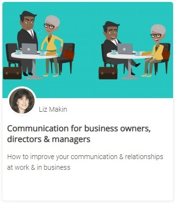Online course - Communication for business owners, directors & managers