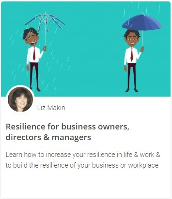 Online course - Resilience for business owners, directors & managers