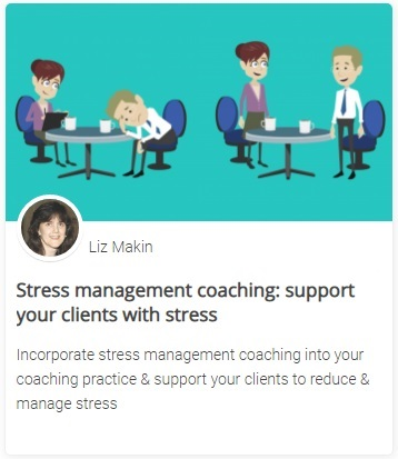 Online course - Stress management coaching: support your clients with stress