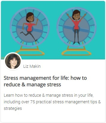 Online course - Stress management for life: how to reduce & manage stress