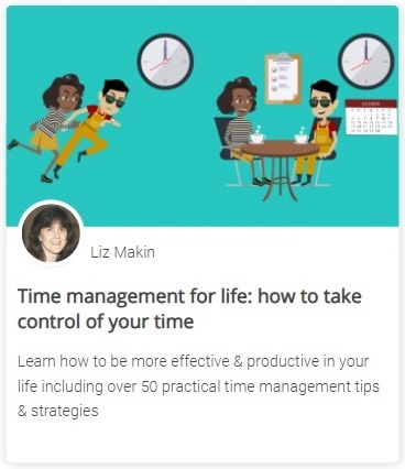 Online course - Time management for life: how to take control of your time